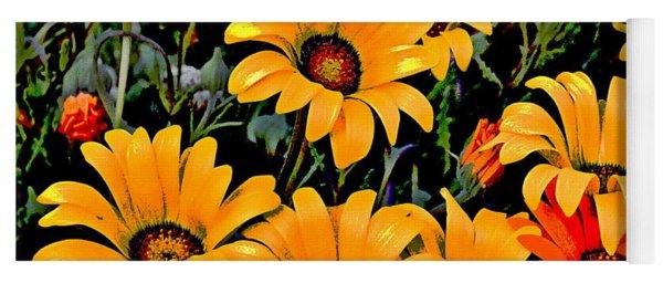 Flower Power 2 Yoga Mat