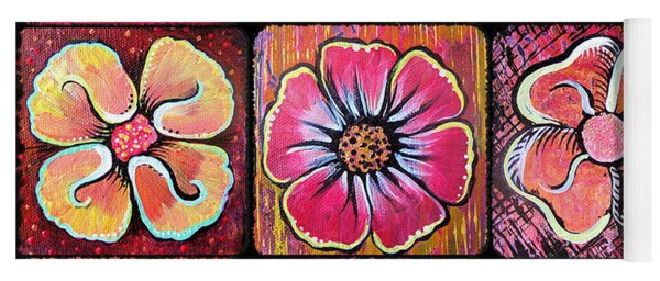 Flower Power Montage Yoga Mat