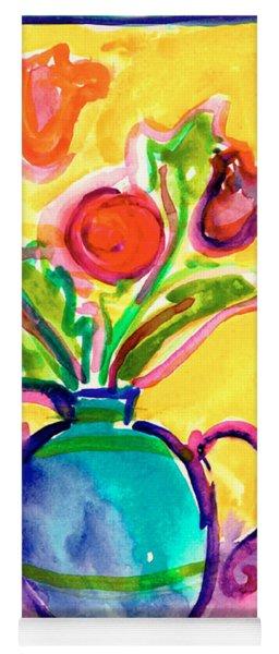 Flower Vase Yoga Mat