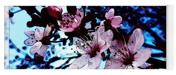Flowering Of The Plum Tree 7 Yoga Mat