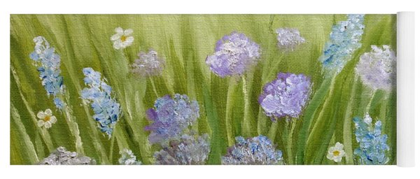 Flowers Field Yoga Mat