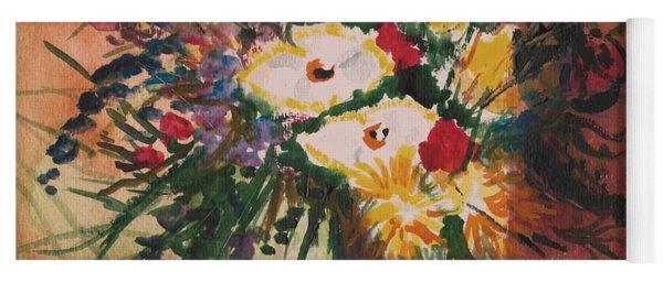 Flowers In Vases Yoga Mat