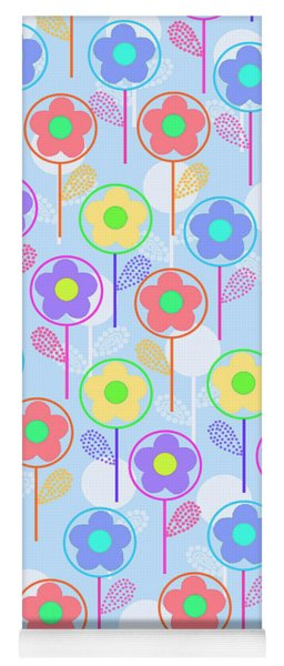 Flowers Yoga Mat