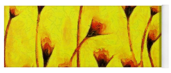 Flowers Of Love  - Van Gogh -  - Da Yoga Mat