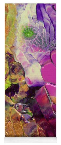 Flowers Of The Cosmic Sea Yoga Mat