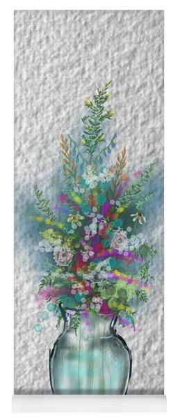 Flowers Study Two Yoga Mat