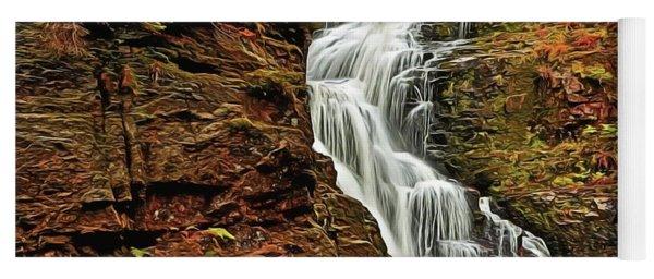 Flowing Waters Yoga Mat