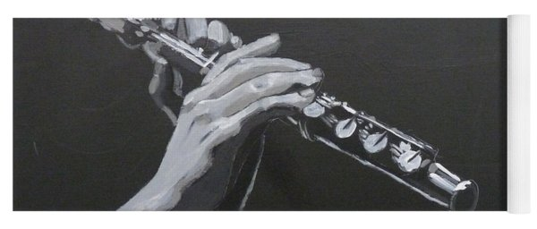 Flute Hands Yoga Mat