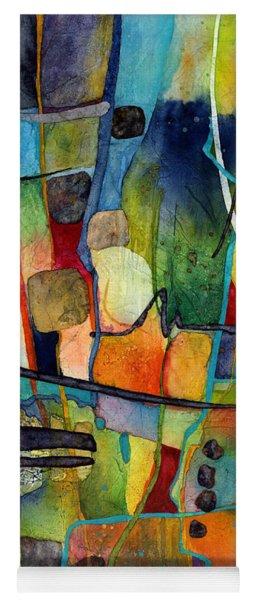 Fluvial  Mosaic Yoga Mat