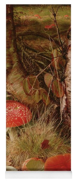Fly Agarics Yoga Mat