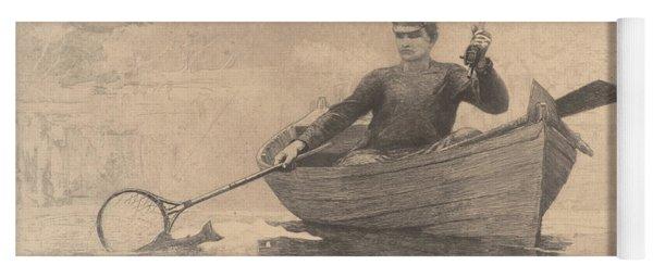 Fly Fishing, Saranac Lake, 1889 Yoga Mat