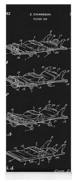 Flying Car Patent Yoga Mat