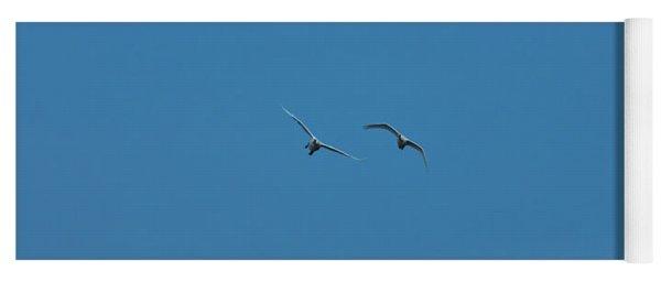 Flying Swans #g0 Yoga Mat