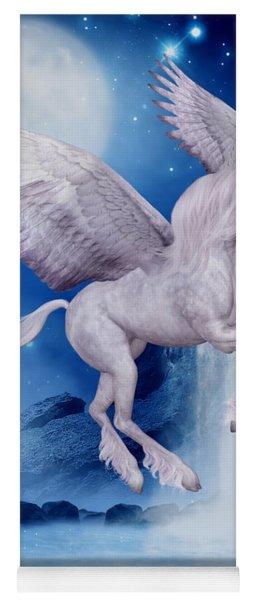 Flying Unicorn Yoga Mat