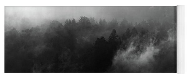Fog Forest Yoga Mat