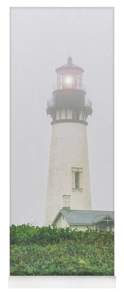 Yoga Mat featuring the photograph Fog Light by Craig Leaper