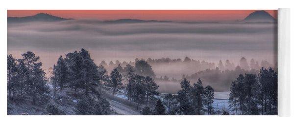 Foggy Dawn Yoga Mat