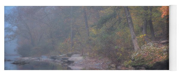 Foggy Fall Yoga Mat