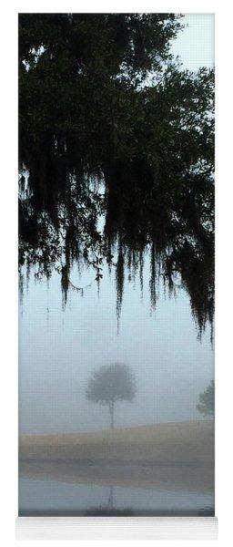 Foggy Morn Reflections Yoga Mat
