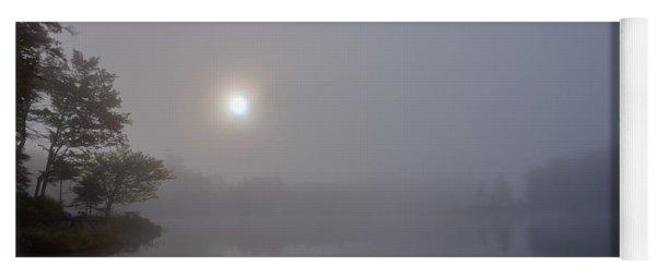 Foggy Sunrise On West Lake Yoga Mat