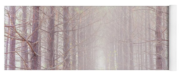 Foggy Walk  Yoga Mat
