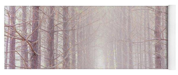 Foggy Walk  Yoga Mat