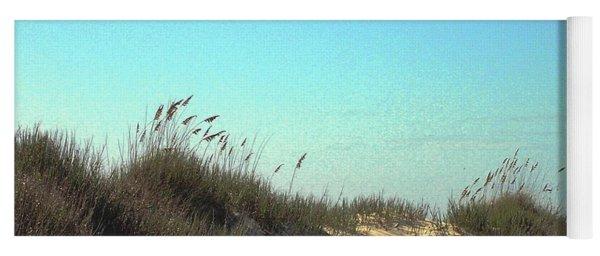 Folly Beach Sc Dunes Yoga Mat