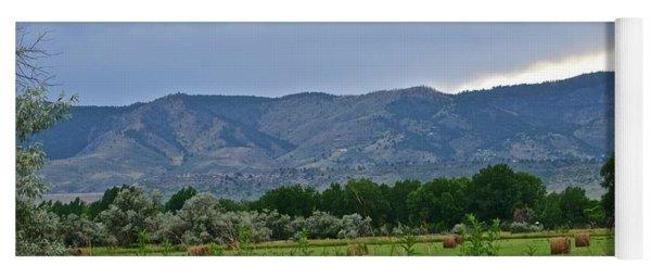 Foothills Of Fort Collins Yoga Mat