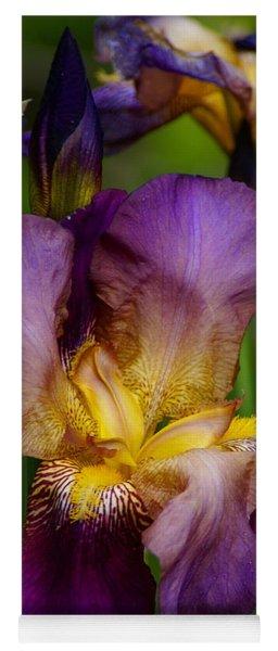 For The Love Of Iris Yoga Mat