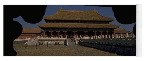 Yoga Mat featuring the photograph Forbidden City, Beijing by Travel Pics
