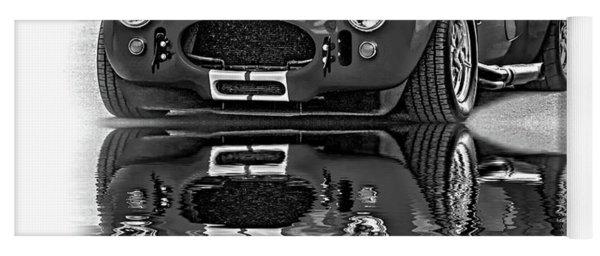 Ford/shelby Ac Cobra - Reflection Bw Yoga Mat