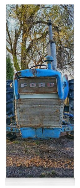 Ford Tractor Yoga Mat