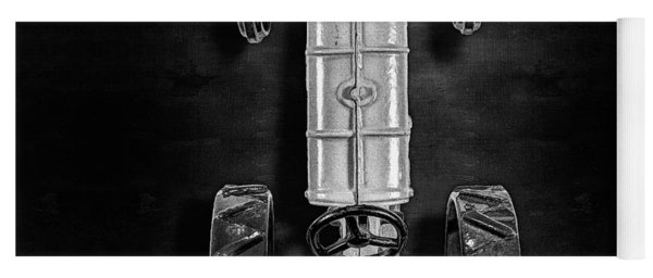 Fordson Tractor Top Bw Yoga Mat