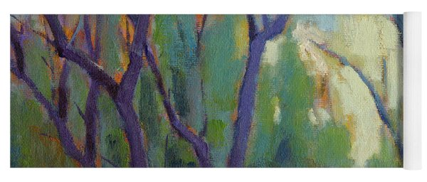 Forest In Spring Yoga Mat