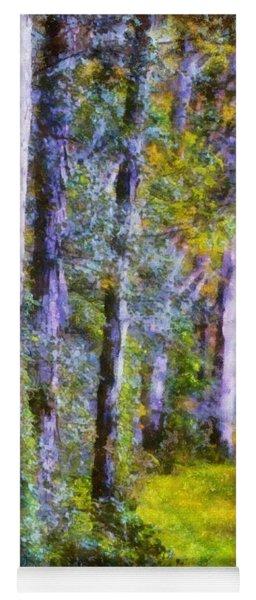 Forest Light Yoga Mat