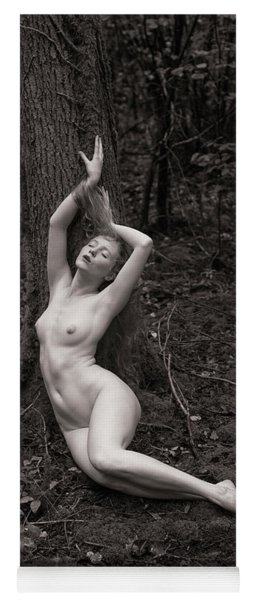 Forest Nude Yoga Mat