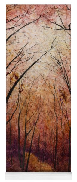 Forest Path Yoga Mat
