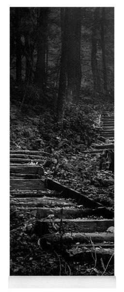 Forest Stairs Yoga Mat