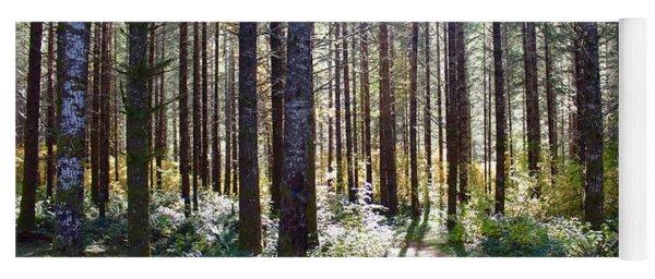 Forest Stroll Yoga Mat