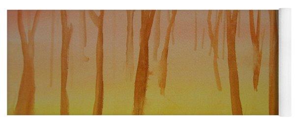 Forest Study Yoga Mat