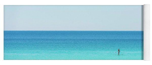 Forever Blue Gulf Paddle Yoga Mat