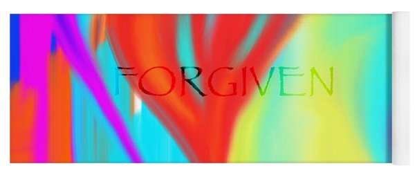 Forgiven Yoga Mat