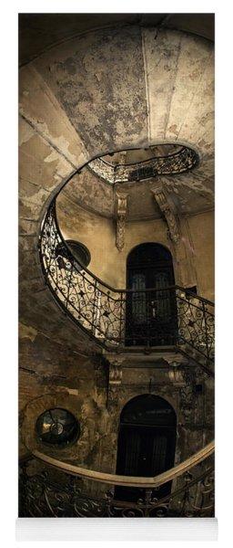 Forgotten Staircase Yoga Mat