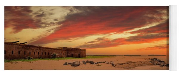 Fort Clinch Yoga Mat