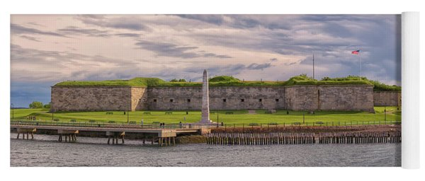 Fort Independence At Castle Island Yoga Mat