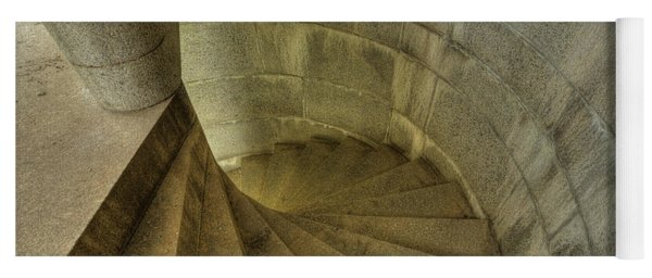Fort Popham Stairwell Yoga Mat