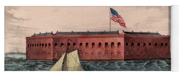 Fort Sumter, Charleston Harbor, South Carolina Yoga Mat