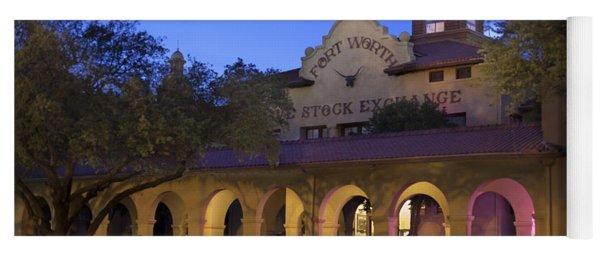 Fort Worth Livestock Exchange Yoga Mat