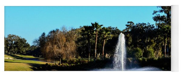 Fountain At Tpc Sawgrass Yoga Mat