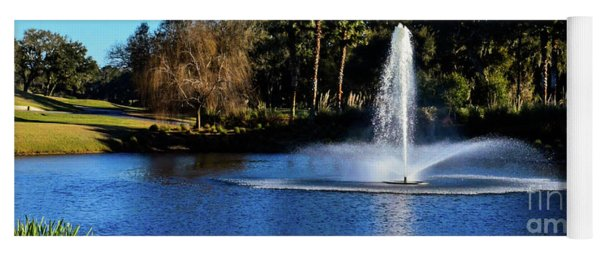 Fountain At Tpc Sawgrass Yoga Mat